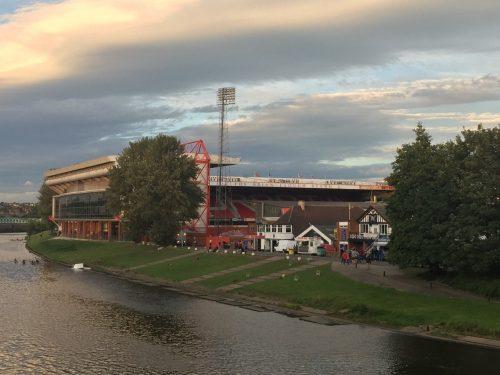 City Ground from Trent Bridge