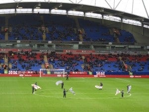 English Soccer Tour: <BR>Seeing a Game at Bolton Wanderers FC