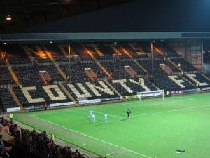 Seeing a Game at Notts County FC