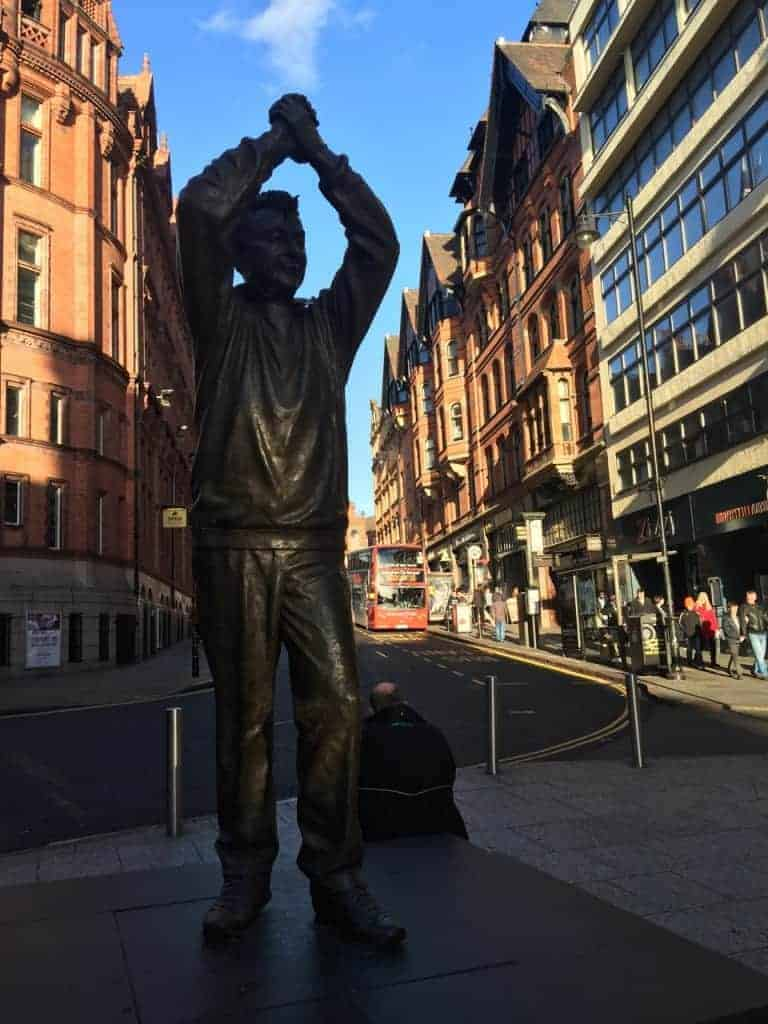Brian Clough Statue Nottingham
