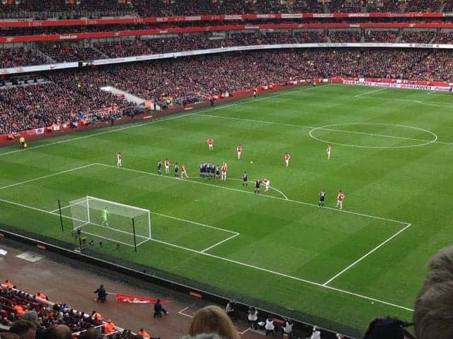 The Emirates Arsenal FC London hosts Europa League soccer games