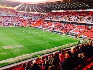 The Valley at Charlton Athletic, in East London, will see the Attics in action over Christmas.