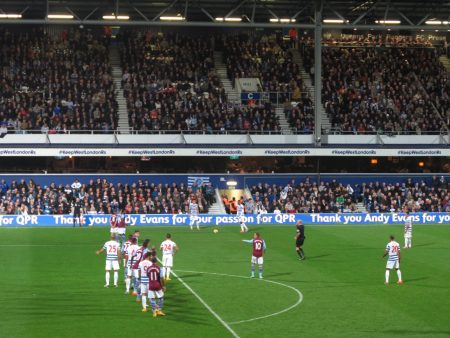 QPR, and their stadium, are pretty much crap. But I bet they could handle most of MLS.