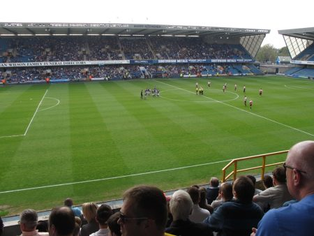 For comparison, here is The Den in South London, home of League One Millwall.