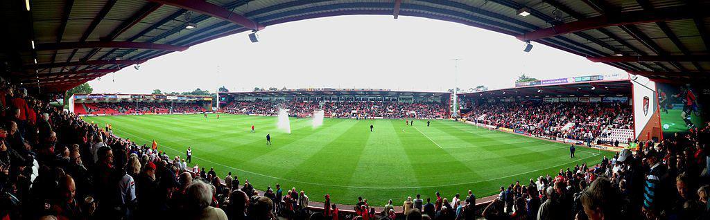 Bournemouth Dean Court Vitality Stadium panorama