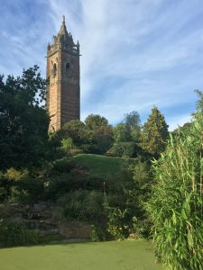 Cabot Tower in Bristol's Brandon Park.