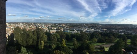View from Cabot Tower, Brandon Park, Bristol
