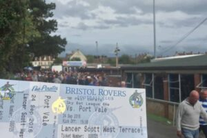 Seeing a Game at Bristol Rovers FC
