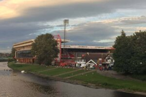 English Soccer Game Day: <BR>Nottingham Forest v Fulham