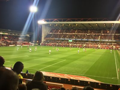 The Trent End, seen from the visitors' section.