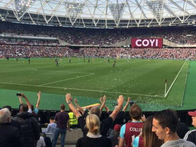 English Soccer Game Day: West Ham's New Home