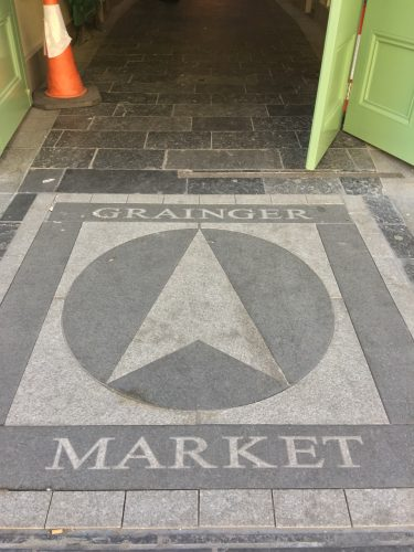 Entrance to 19th Century Grainger Market