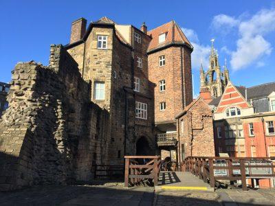 Black Gate near the castle keep