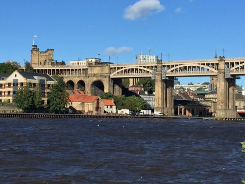 High Bridge from down by the Tyne