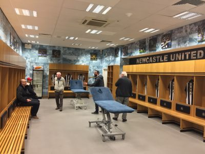 One option is to tour St. James' Park, including the home dressing room.