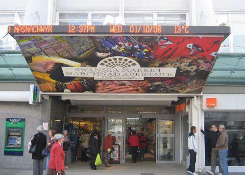 swansea market entrance
