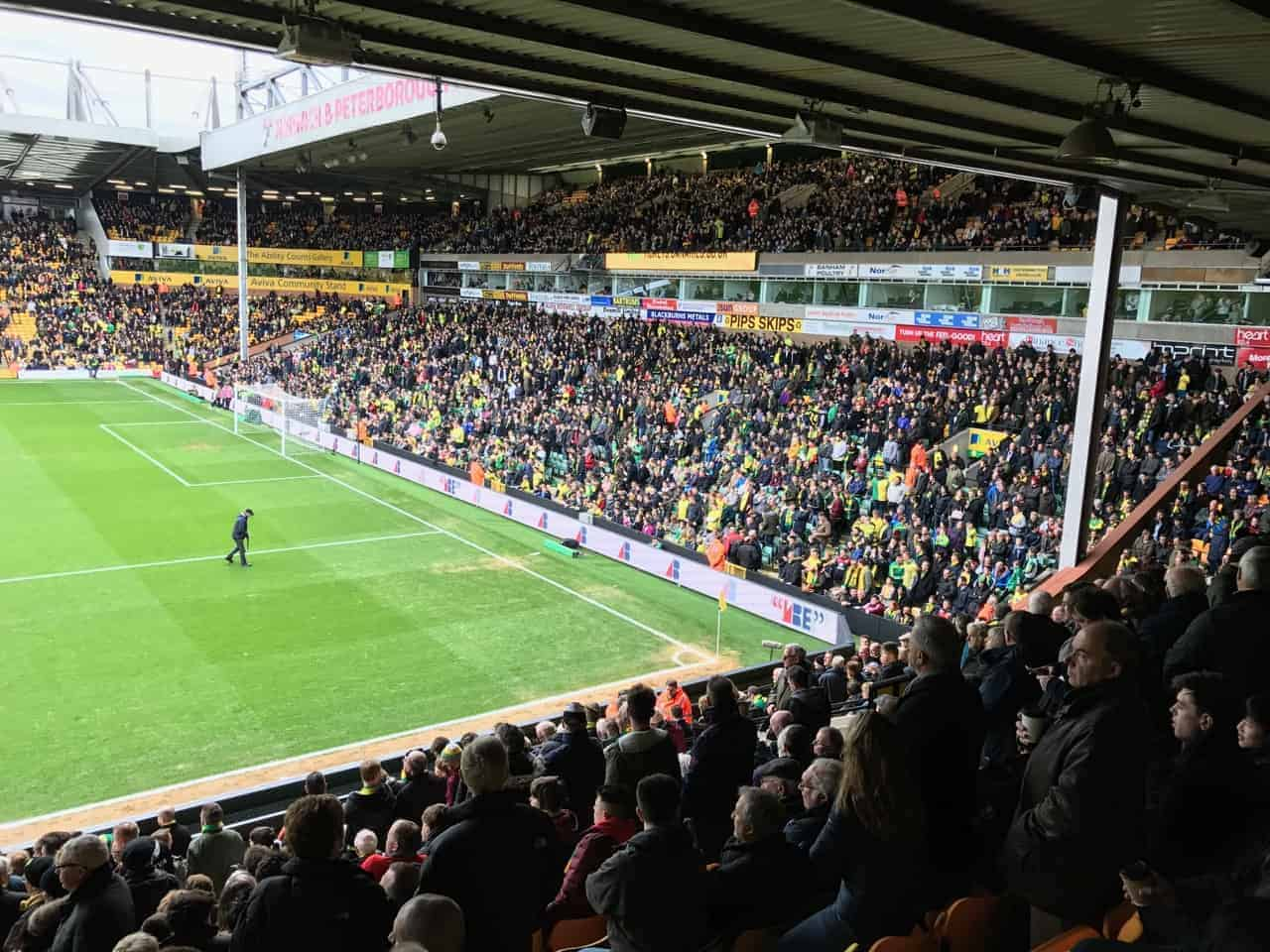 Norwich City fans excited for promotion to Premier League