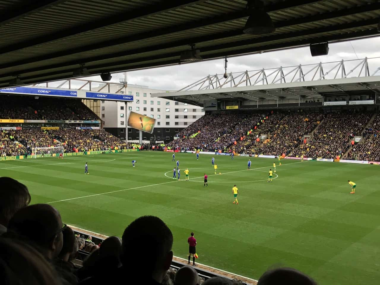 top English football derby Norwich City Ipswich Town