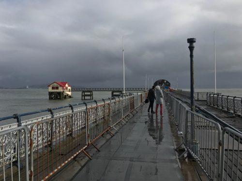 lifeboat shack mumbles pier south wales