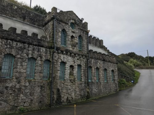 old stone building mumbles south wales