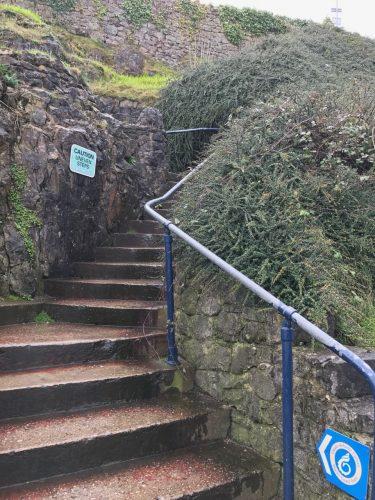 Wales coastal path mumbles south wales