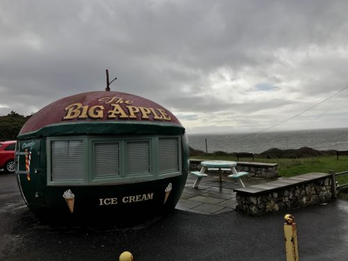 big apple ice cream stand mumbles south wales