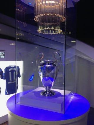chelsea champions league trophy