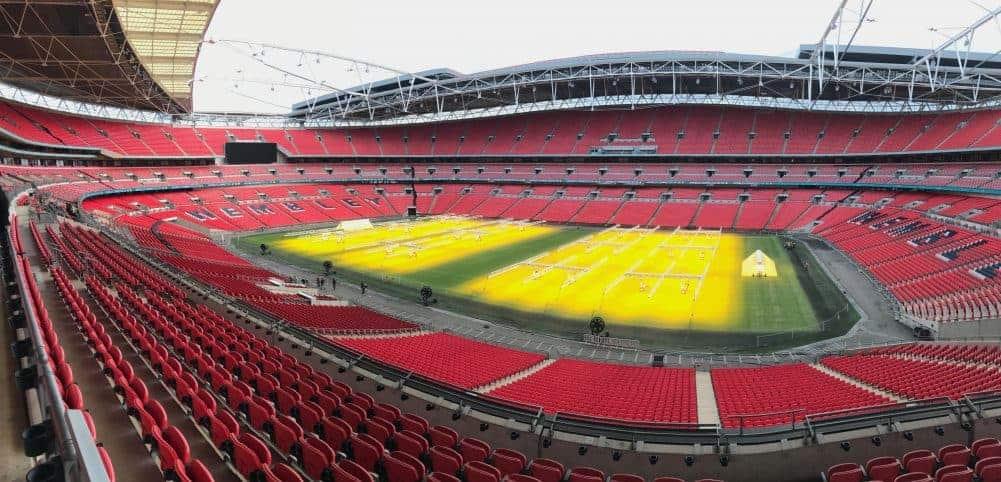 wembley stadium hosts english football championship games