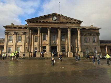 huddersfield town train station
