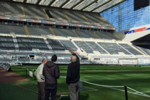 Tour St. James' Park at Newcastle United