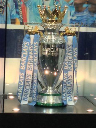 english football Premier league trophy
