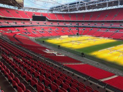 fans return english soccer wembley