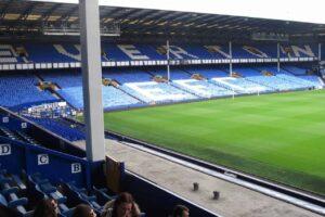 Tour Goodison Park at Everton FC