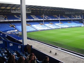 Tour Goodison Park at Everton FC