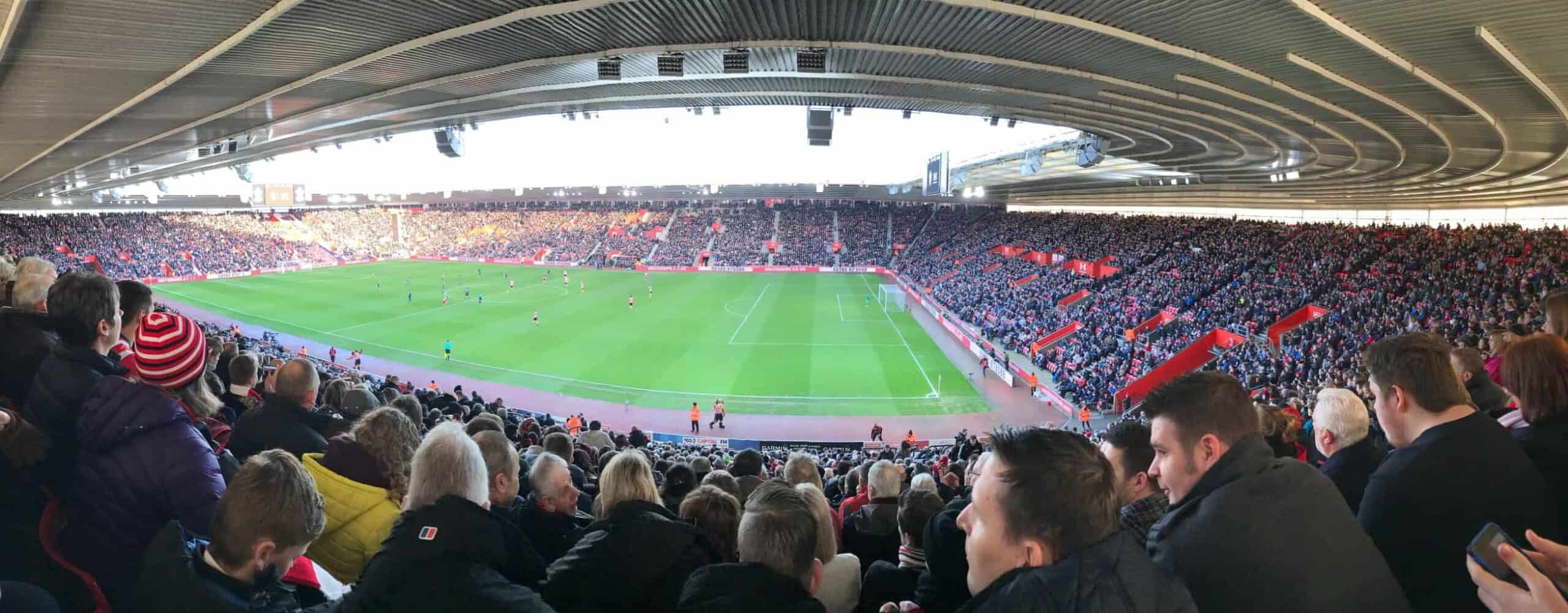 Southampton St Mary's stadium Panorama