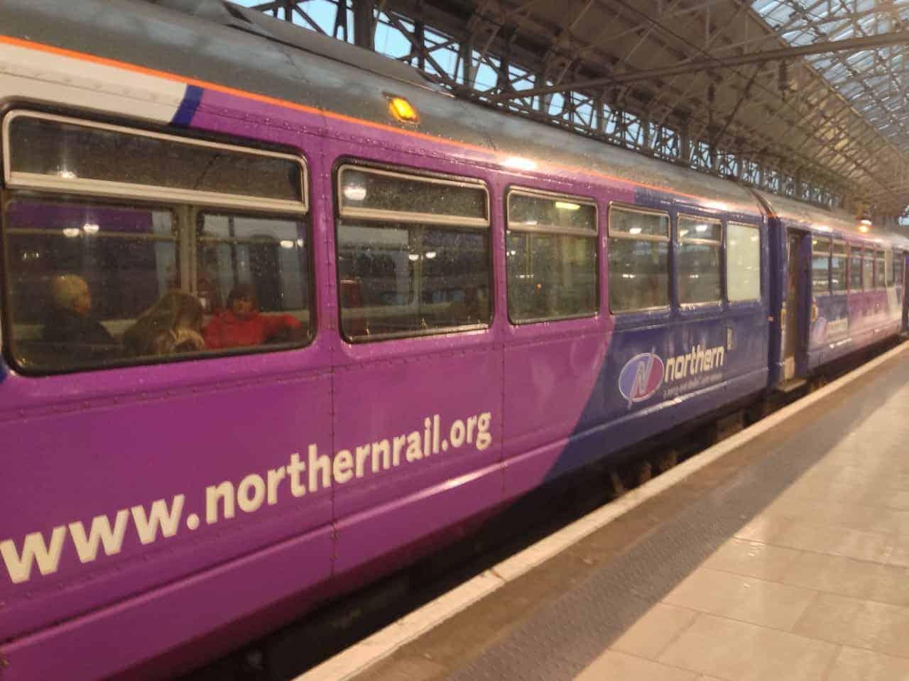 UK england train sheffield