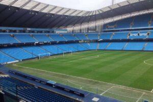 Tour the Etihad Stadium at Manchester City FC