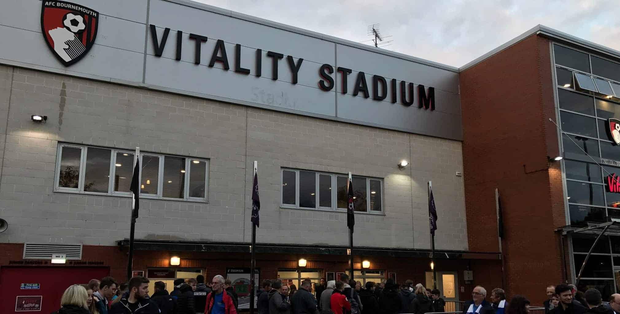 Vitality Stadium exterior AFC Bournemouth