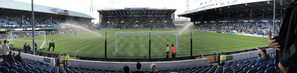 Panorama from the Milton End, looking over towards the Fratton End