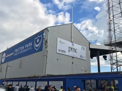 fratton park south stand