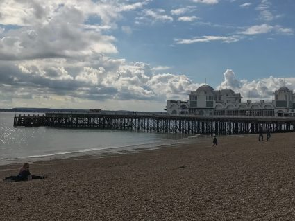 portsmouth pier and beach