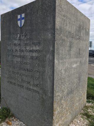 D-Day memorial in Southsea