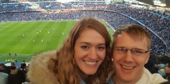 April and Garrett See a Game at Manchester City