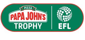 efl trophy sponsor papa john's
