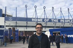 Reader Report: Josh and Jennifer See a Game at Everton FC
