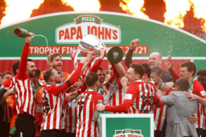 What is the Football League Trophy, or Papa John's Trophy?