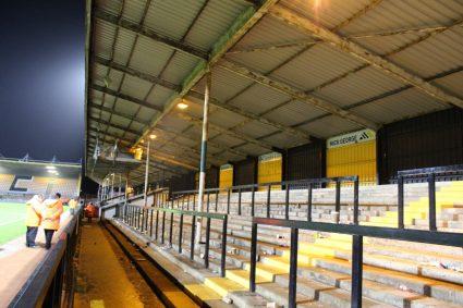 empty terraces at cambridge united