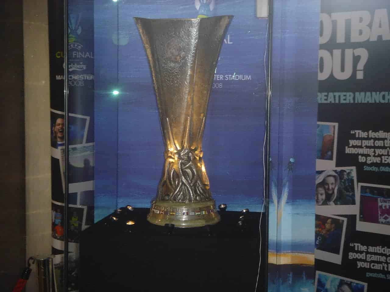 Europa League Trophy Manchester United
