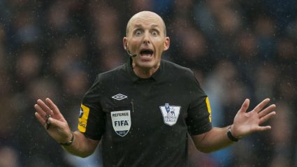 british football terms referee