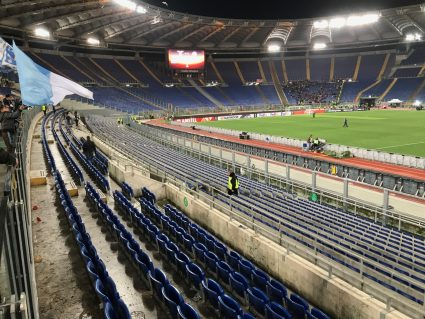 after a Lazio game at Stadio Olimpico